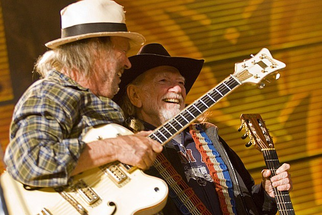 Willie Nelson Neil Young