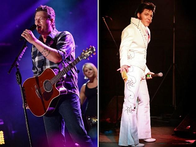 Blake Shelton Elvis Presley