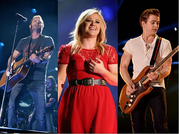 Dierks Bentley Kelly Clarkson Hunter Hayes