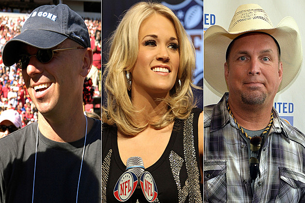 Kenny Chesney Carrie Underwood Garth Brooks