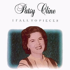 Patsy Cline I Fall to Pieces single cover