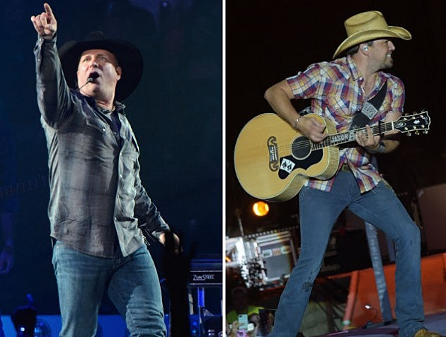 Garth Brooks Jason Aldean