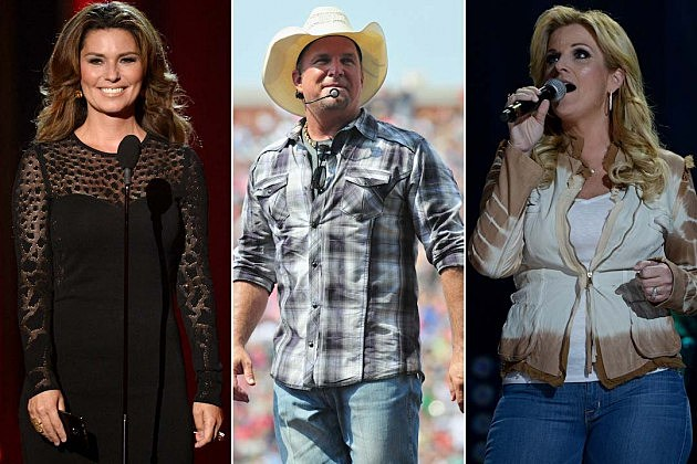 Trisha Yearwood, Garth Brooks, Shania Twain