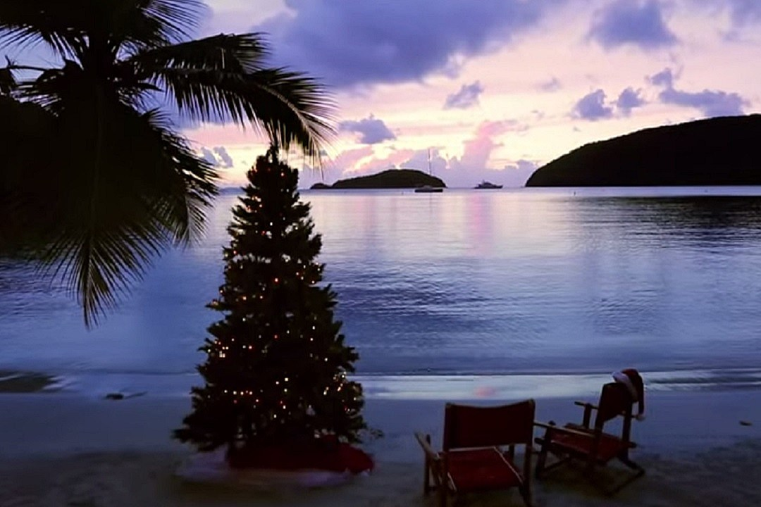 Kenny Chesney Shares Video for \'Christmas in Blue Chair Bay\'