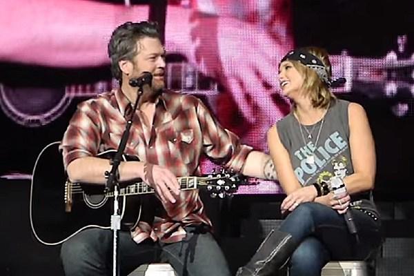 Miranda Lambert Blake Shelton Duet At Weekend Concerts