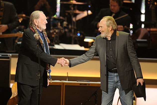 Willie Nelson, Merle Haggard, Django and Jimmie