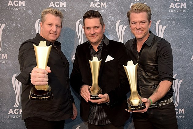 Rascal Flatts first ACM Awards win