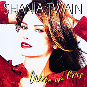 Shania Twain Come on Over album artwork
