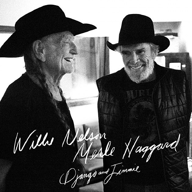 Merle Haggard Willie Nelson Django and Jimmie album cover