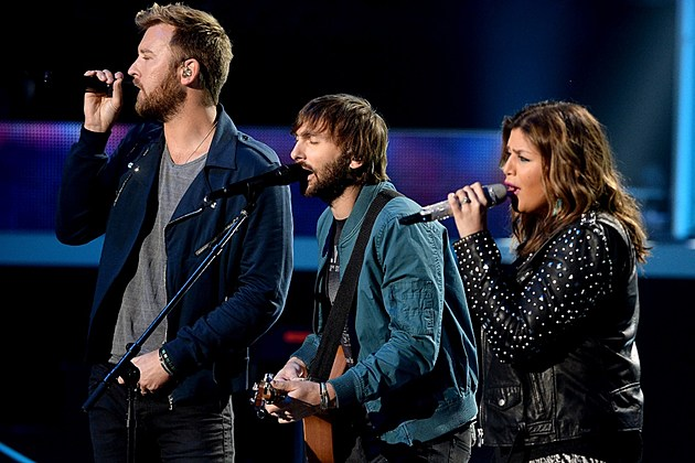 Lady Antebellum Zedd 2015 CMT Music Awards