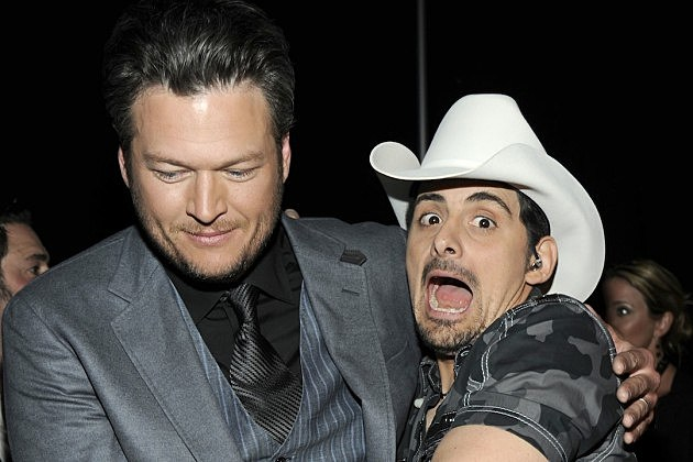 Brad Paisley, Blake Shelton, the Voice