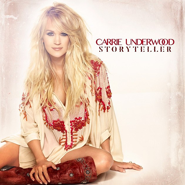 Carrie Underwood Storyteller album cover
