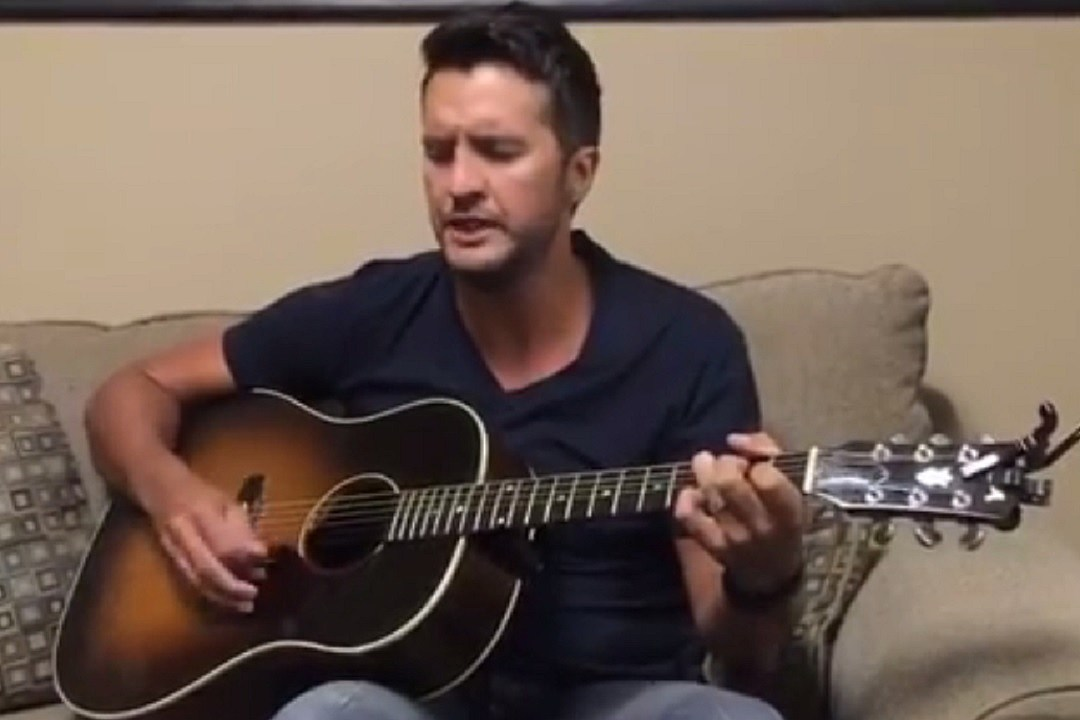 Luke Bryan Shares Acoustic Version of \'To the Moon and Back\'