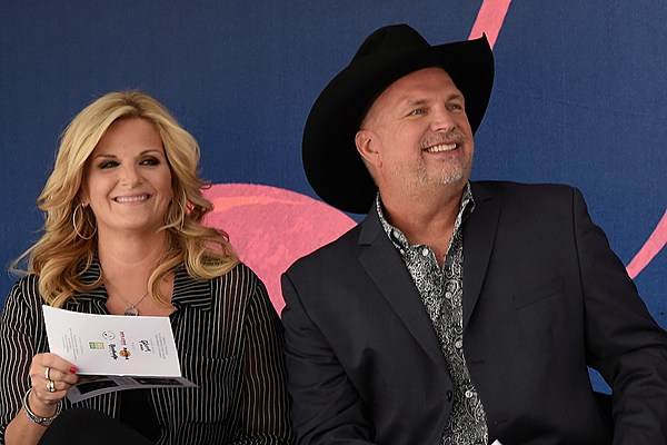 Fame is a mind a way of thinking about things i by reba for Trisha yearwood and garth brooks wedding pictures