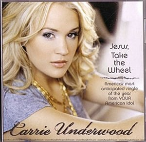 Carrie Underwood Jesus Take the Wheel single cover