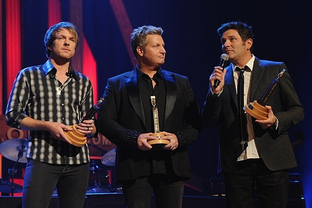 Rascal Flatts Join The Grand Ole Opry