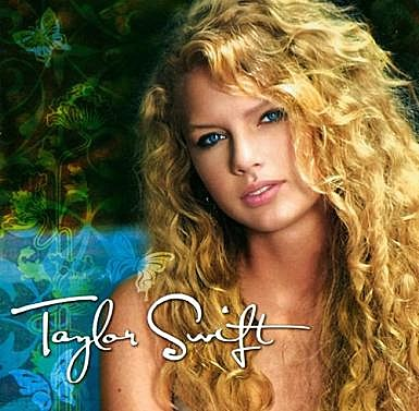 Taylor Swift debut album cover
