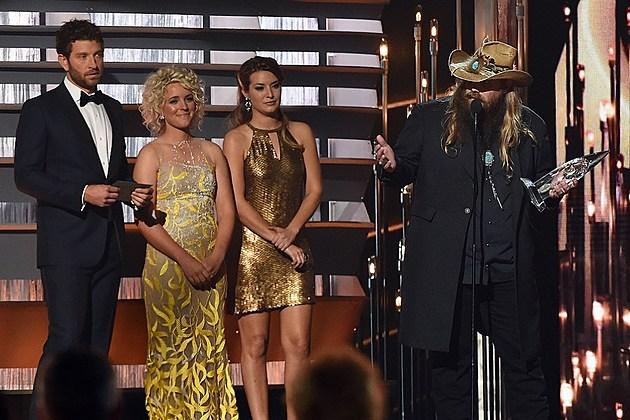 Chris Stapleton 2015 CMA Awards New Artist of the Year