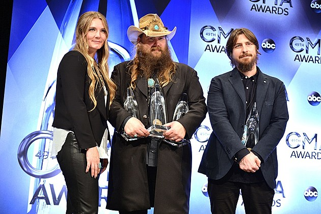 Chris Stapleton 2015 CMA Awards