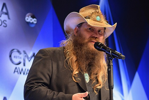 Chris Stapleton 2015 CMA Awards Male Vocalist of the Year