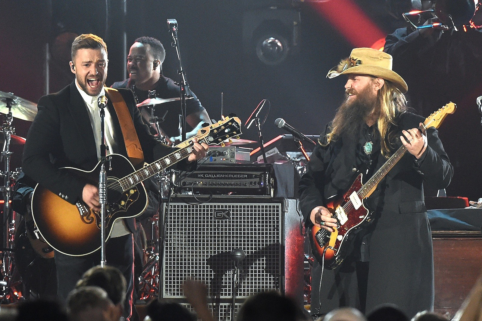 Chris Stapleton Justin Timberlake Team For Say Something