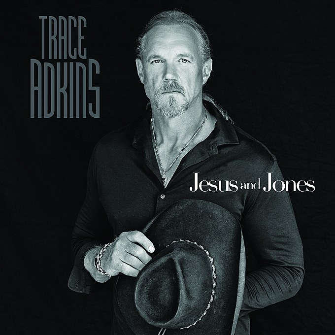 Trace Adkins Jesus and Jones single cover