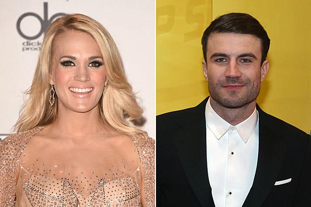 Carrie Underwood Sam Hunt 2016 Grammy Awards