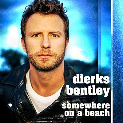 Dierks Bentley Somewhere on a Beach single cover