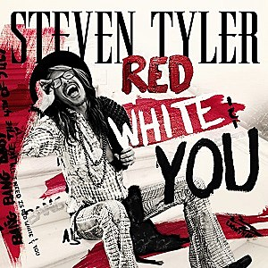 Steven Tyler Red White and You single cover