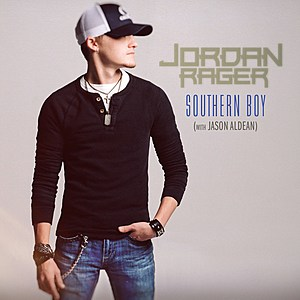 Jordan Rager Southern Boy single cover