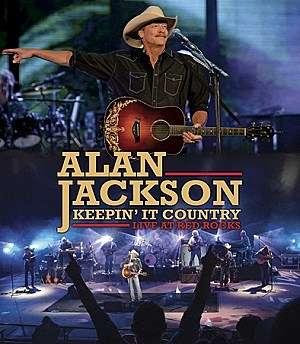 Alan Jackson Keepin It Country Live at Red Rocks DVD cover