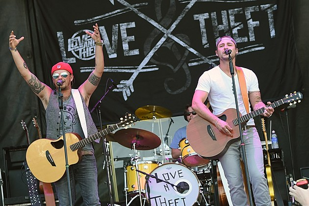 Love and Theft Curb Records