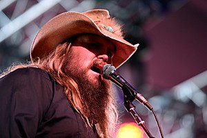Chris Stapleton New Artist of the Year 2016 Golden Boot Awards