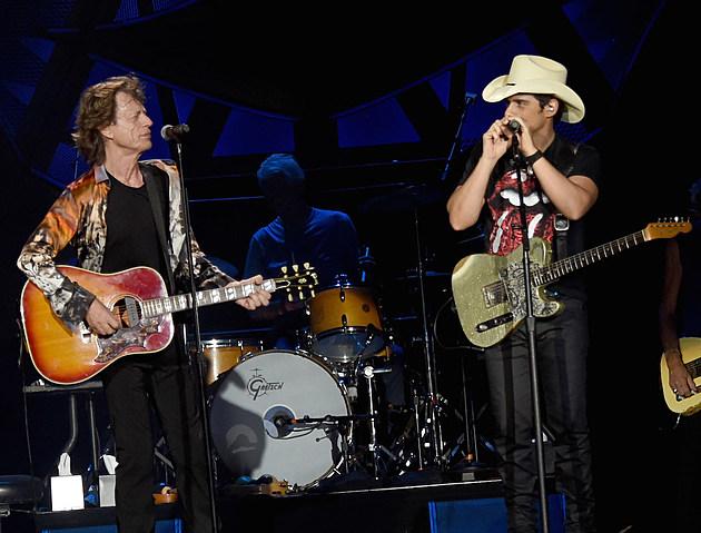 Mick Jagger, Brad Paisley collaboration