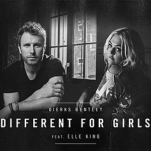 Dierks Bentley Elle King Different for Girls single cover