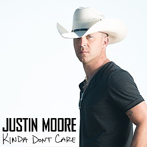 Justin Moore Kinda Don't Care album cover