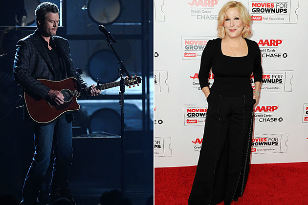 Blake Shelton Bette Midler The Voice Season 11