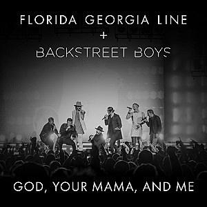 Florida Georgia Line Backstreet Boys God Your Mama and Me single cover