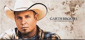 Garth Brooks The Ultimate Collection album cover