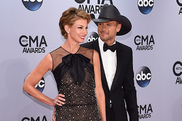 Tim Mcgraw And Faith Hill Reveal Co Headlining 2017 Tour