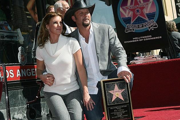Tim McGraw Hollywood Walk of Fame