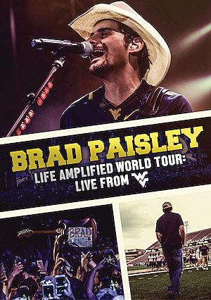brad paisley life amplified world tour dvd