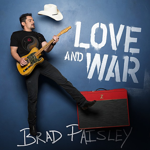 Image result for album art Brad Paisley: Love And War