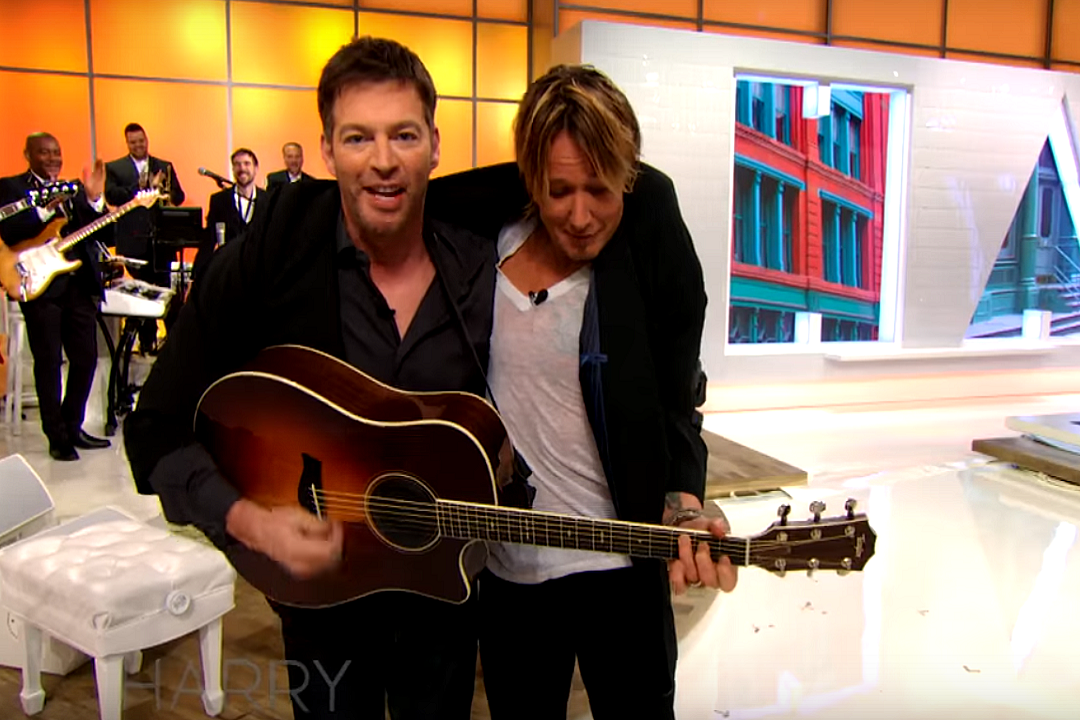Watch Keith Urban Harry Connick Jr Jam Together