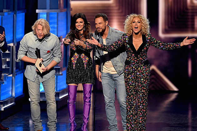 Little big town earn vocal group of the year at the 2017 for Academy of country music award for video of the year