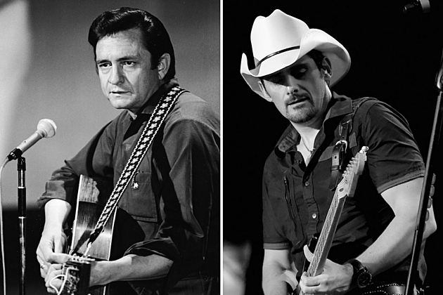 brad paisley song Johnny cash poem