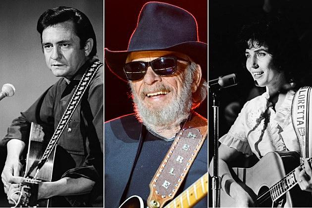 johnny cash merle haggard loretta lynn best country songs 1960s