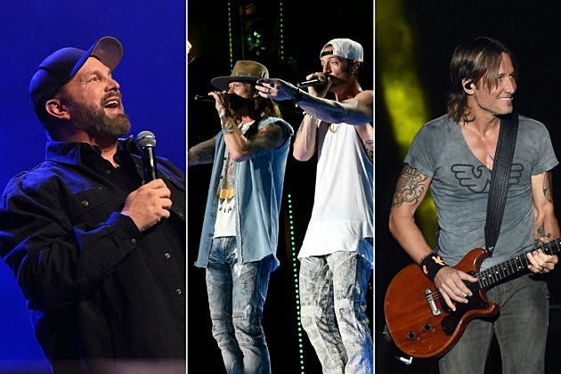 Garth Brooks, Keith Urban, Florida Georgia Line Lead Stagecoach 2018 Lineup