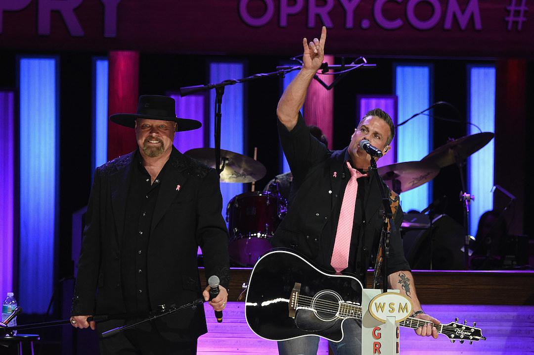 interview eddie montgomery talks 2018 tour troy gentrys death - Montgomery Gentry Merry Christmas From The Family