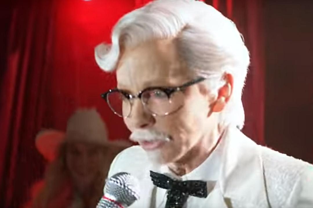 Reba McEntire Transforms Into Col. Sanders for New KFC Ad [WATCH]